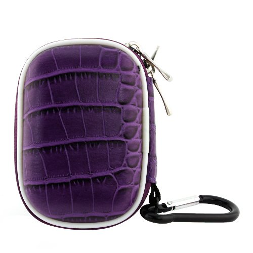 Birugear Small Carrying Storage Pouch Case For Wireless Bluetooth / 3.5Mm Wired Handsfree Headset - Purple