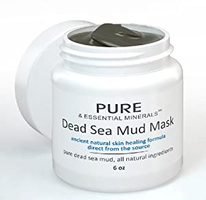 Dead Sea Mud Face Mask - Ancient Natural Facial Mask and Skin Care Treatment for Women, Men and Teens - Organic Mud Mask Offers Gentle Facial Exfoliator, Natural Moisturizer and Deep Cleansing to Restore Your Skin's Natural Radiance - This Renowned Anti-Aging Mud Mask Heals Dry & Oily Skin, Acne, Eczema & Psoriasis - Leaves You With a Youthful-Looking, Radiant Complexion