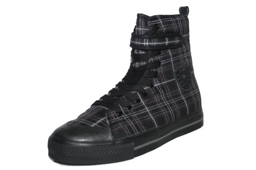 BORAS - LUCKY Schuhe, Spotrschuhe, Sneaker, black/graphite Gr.38
