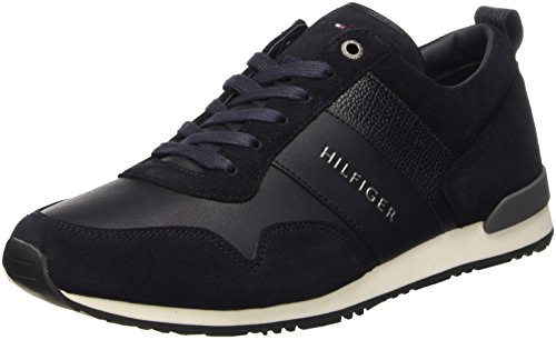 Tommy Hilfiger M2285Axwell 11C1, Scarpe Low-Top Uomo, Blu (Midnight (403)), 42 EU