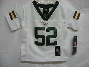 2012-2013 Season Clay Matthews Green Bay Packers White NFL Toddler Jersey