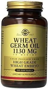 Solgar, Wheat Germ Oil 1130 mg 100 Softgels