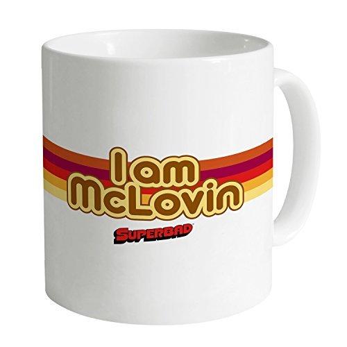 [Funny Mugs Coffee Mugs Official Superbad I Am McLovin Mug] (Calvin And Hobbes Couple Costume)