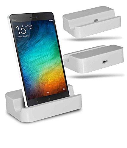 Xiaomi Mi 4i Station d'accueil de bureau avec chargeur Micro USB support de chargement - White - By Gadget Giant®