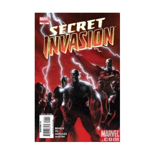 Secret Invasion #1 cover