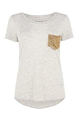 Stud pocket t shirt
