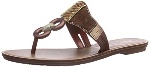 Grendha Golden Thong, Infradito donna, Marrone (Braun (Bronze 90085)), 38