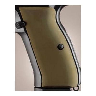 Hogue CZ-75/CZ-85 Grips Aluminum Matte Green
