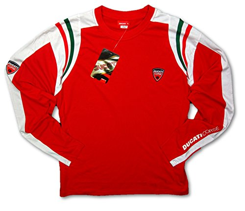 ducati-corse-motogp-bike-motorcycle-mens-red-longsleeve-t-shirt-xxxl