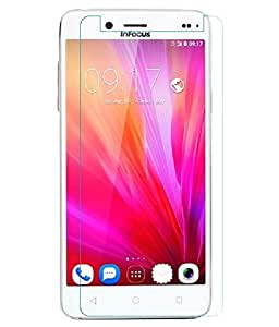 PES 0.3mm Premium Anti Explosion Tempered Glass, 9H Hardness Ultra Clear, Anti-Scratch, Bubble Free, Anti-Fingerprints & Oil Stains Coating for InFocus M680