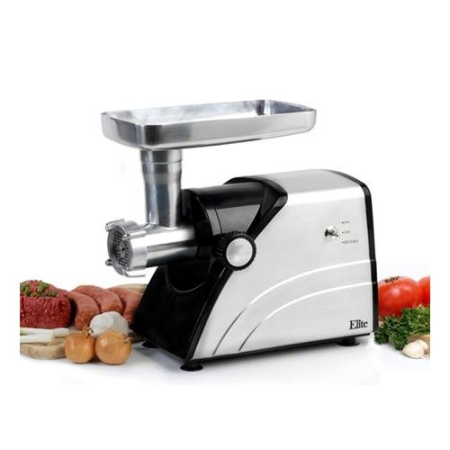 MAXI MATIC USA 550 watts; 0.7 horse-power stainless steel meat grinder / MX-HA-3433A /