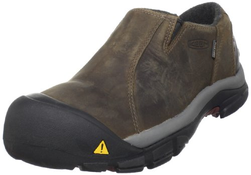 KEEN Men's Brixen Lo WP Insulated Shoe,Slate Black/Madder Brown,10.5 M US (Keen Insulated Boots For Men compare prices)