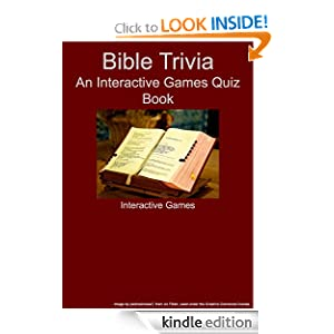 Bible Trivia - An Interactive Games Quiz Book