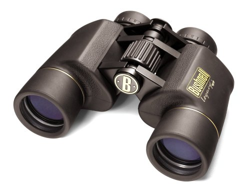Bushnell 8x42 Legacy WP Waterproof  &  Fogproof Wide Angle Porro Prism Binocular with 8.2-Degree Angle of View