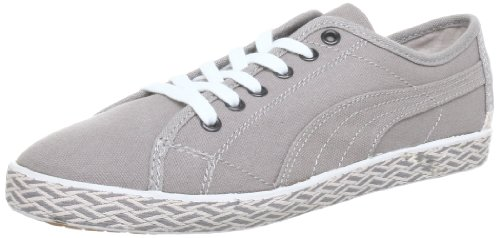 Puma Kamila Espadrille Wn's Low Top Womens Gray Grau (opal gray-peach blush 01) Size: 8 (42 EU)