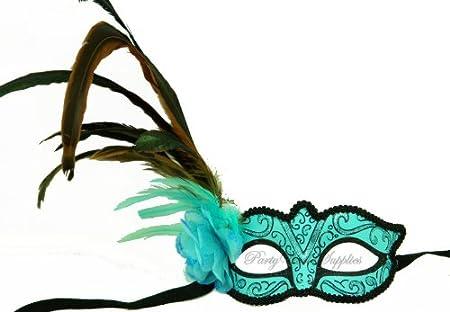 Eye Mask With Feathers Feather Venetian Eye Mask