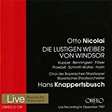 ニコライ:「ウインザーの陽気な女房たち」 (Nicolai : Die Lustigen Weiber von Windsor / Hans Knappertsbusch) (2CD) [Import CD from Germany]