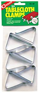 Coghlan's 527 Table Cloth Clamps (Set of 6)