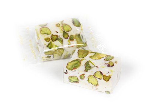Noguat with Pistachio Packed in Morsels – 25 Pieces