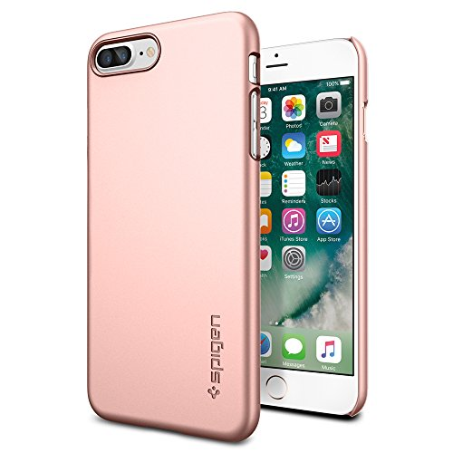 iphone 7 plus rose gold. iphone-7-plus-case-spigen-thin-fit-exact- iphone 7 plus rose gold o