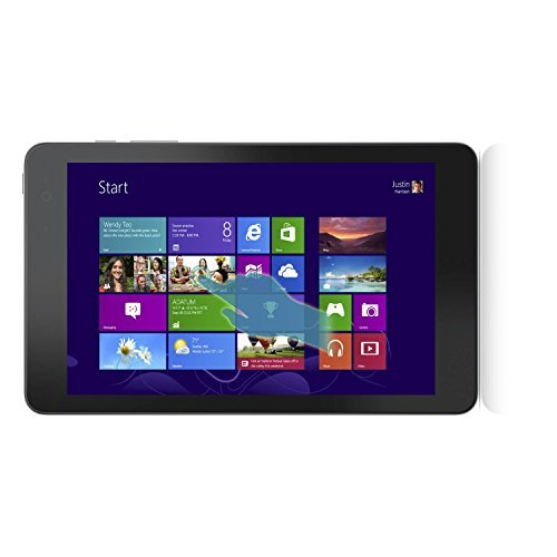 Dell Venue 8 Pro 3000 Series 32GB Windows Tablet with Intel 1.83 GHz Processor, 8.0 Inch HD Touchscreen Display, Bluetooth, Windows 8.1 (Certified Refurbished)