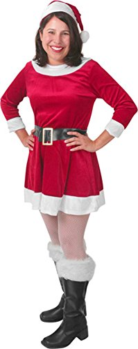 Women's Santa's Helper Mrs. Clause Costume