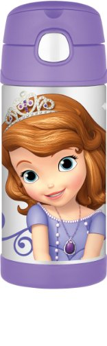 Thermos Funtainer Bottle, Sofia The First, 12 Ounce front-1075818
