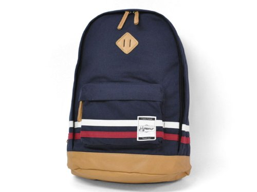 This line 2 backpack canvas (NAVY)