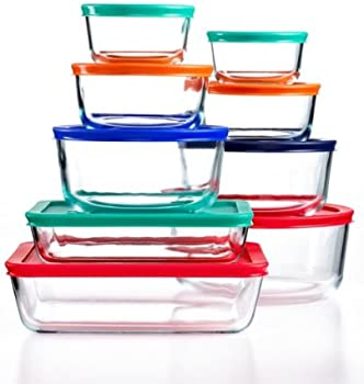 18-Piece Pyrex Food Storage Container Set