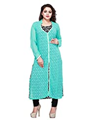 Infigo Fashion Women's Plus Size Georgette Kurta/Tunic