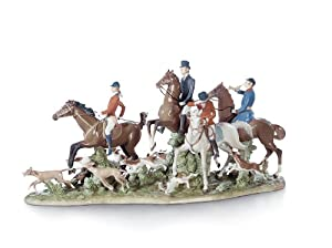 Amazon.com - Lladro Fox Hunt - Collectible Figurines