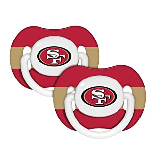 NFL San Francisco 49ers 2 Pack Pacifier