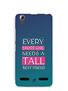 YuBingo Girl Needs a Best Friend Mobile Case Back Cover for Lenovo A6000
