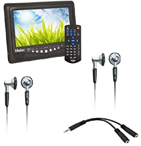 Haier HLT71KIT 7-Inch Portable LCD TV