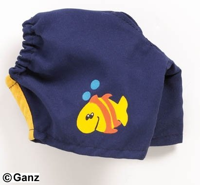 Webkinz - Swimming Trunks - 1