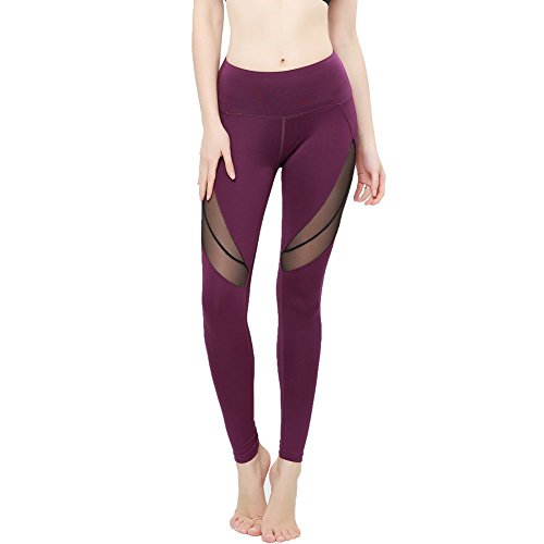 FeelinGirl Yoga Women's Goddess Ribbed Legging