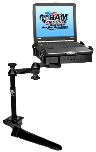 No-Drill Laptop Mount for the Ford F-250, F-350, F-450, F-550, F-650, F-750 & Excursion RAM-VB-185-SW1 (Truck Computer Mount compare prices)
