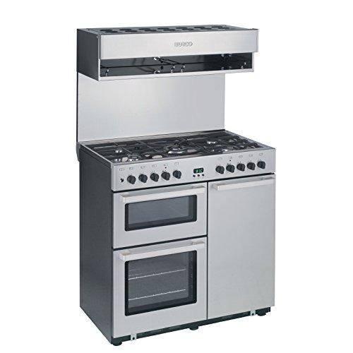 Burco Cook Centre 4 Burner Dual Fuel Range CC90DF