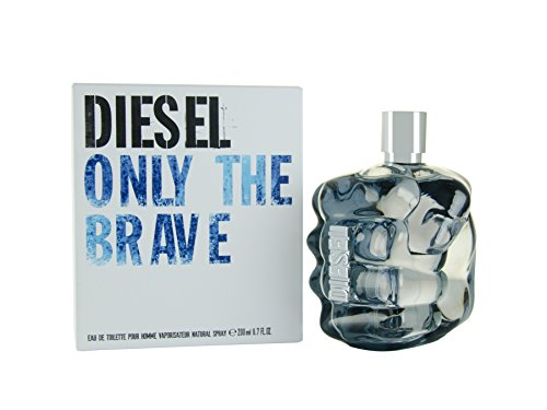 Diesel Only The Brave Eau De Toilette Spray for Men, 6.7 Ounce