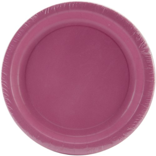 "Luncheon Plates 7"" 24/Pkg-Candy Pink by Creative Expressions"