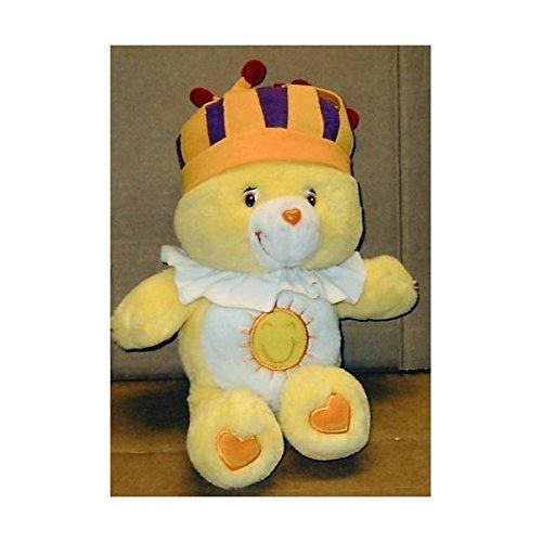 care-bears-13-singing-king-funshine-bear-plush-stuffed-toy-doll