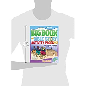 The Big Book of Bible Story Activity Pages #2 (with CD-ROM) (Big Books)