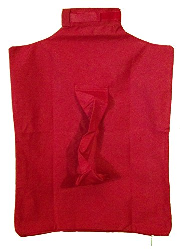 Cat-in-the-bag Cozy Comfort Carrier (Red, XL – for long big breed cats 22 – 36 lbs.)