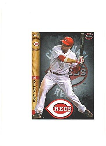 Cincinnati Reds Mini Felt Pennant & Joey Votto Mini Fathead 2014 - 1