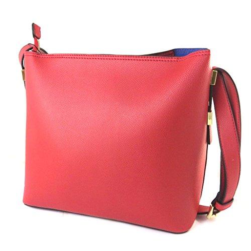 Bag designer 'Ted Lapidus'rosso - 32x26.5x14 cm.