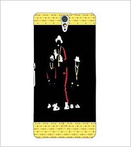 PrintDhaba Dancers D-2668 Back Case Cover for SONY XPERIA C5 ULTRA (Multi-Coloured)