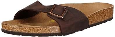 Birkenstock Madrid 440881, Chaussures mixte adulte - Marron (Habana), 35 (normal) EU