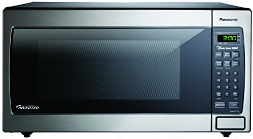 Panasonic NN-SN773SAZ Stainless 1.6 Cu. Ft. Countertop Built-In Microwave with Inverter Technology, Stainless Steel/Silver (Panasonic Microwave Built In Kit compare prices)