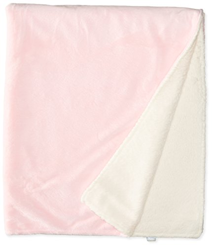 i play. Baby-Girls Newborn Soft and Snuggly Blanket-Pink, Light Pink, One Size