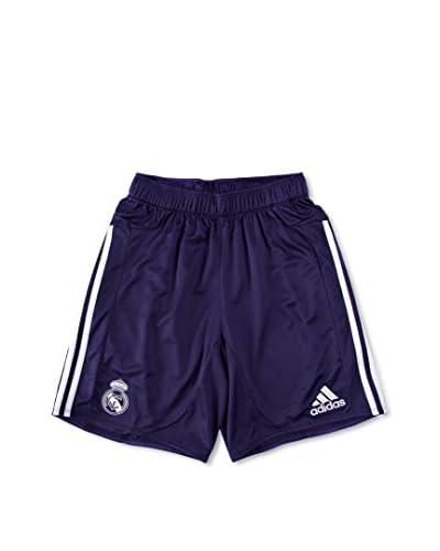 Real Madrid By Adidas Short Niño Azul / Blanco